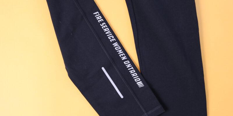 Full length yoga legging - black